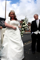 John & Lisa wedding St Aloysius Huyton
