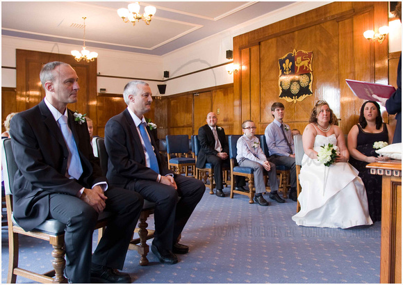 Graham Dawn Wedding Prescot Registry Office